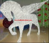 3D Acrylic Light (BW-SC-202) Fly Horse Holiday Lights as High Class Place Decoration