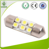 12V White T10 Auto LED Festoon Light