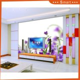 Purple Flower Digital Printing Oil Painting Design for Living Room