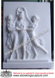 Marble Relief, Stone Carved Relief (SK-2193)
