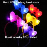 LED Light up Flashing Heart Headbands