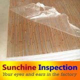 Resin Panel Pre-Shipment Inspection / Decorative Materials Inspection and Quality Control Service