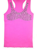 Women Sleeveless Top Tank Top Sexy Lingerie (XD-YB024)