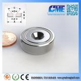N40m D25.4X8.89mm High Quality NdFeB Pot Magnet