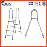 Swimming Pool Double Sided Stainless Steel Pool Ladder