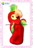Red Bird Plush Puppet for Sale (XDT-0135)