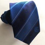 Custom Logo Tie Polyester Silk (L049)