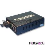 Gigabit Fiber Ethernet Media Converter with Duplex Sc Interface 40km