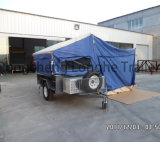 7x4ft Steel Galvanized Camping Trailer and Tent Trailer (CPT-07)