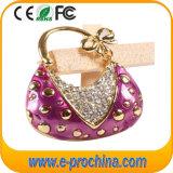 Lady Handbag Jewellery USB Flash Drive Premium Quality Rhinestone USB Pen Drive (ES520)
