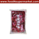 Pickled Sushi Cucumber Slice Fukujinzuke Pink/Red Bag 300g and 1kg for Sushi Material