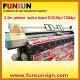 Phaeton 3.2m Vinyl Sticker Solevnt Printer (8 seiko head, 4colors, high quality)