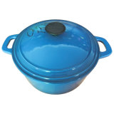 Cast Iron Enamel & Ceramic Casserole