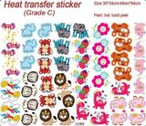 Heat Transfer Printing Custom Stickers for Bags/Garments