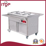 Free Standing Electric Bain Marie with Cabinet (BS)