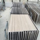 Athens Grey Wooden Marble/White Marble for Countertop/Worktop/Tabletop/Staircase/Step/Riser/Skirt/Floor/Wall