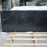 Polished G684 Black Granite Slabs/Tiles/Laminated Tile/Flooring/Countertop