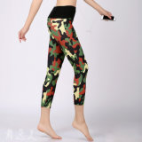 Custom Made Top Quality Women Sports Leggings Polyester and Lycra Sublimation Leggings