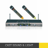 Dual Handheld UHF Wireless Microphone for Karaoke