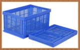 Recycling Plastic Folding Basket for Storage Fruits