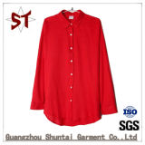 Wholesale Women Comfortable Pure Color Polo Shirt