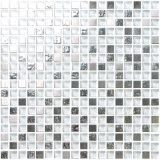 Anti Slip Swimming Pool Glass Mosaic Tile 30*30cm