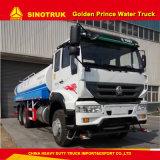 20 Cubic Meters Sinotruk Golden Prince Water Tank Truck