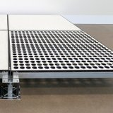 HPL or PVC Punched Tile Air-Flow Raised Floor