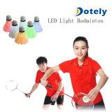 LED Badminton Set Shuttlecock Dark Night Glow Birdies Lighting for Outdoor/Indoor Sports Activities