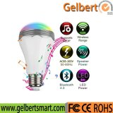 Gelbert Bulb Have Colorful Light Home LED Bluetooth Speaker