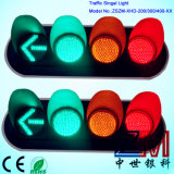 En12368 Approved New Design Red & Amber & Green LED Flashing Traffic Light for Roadway Security