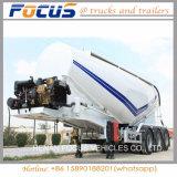 40cbm Coal Powder/Cement/ Tanker Truck Semi Trailer in Philippine