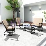 Hotel Villa Hand Weaving PE Rattan Patio Sofa