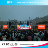 P8 Die Casting Large Waterproof LED Video Wall Screen High Contrast, Large Viewing Angle