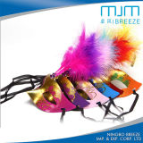 Halloween Party Mask &Party Face Mask with Chicken Feather