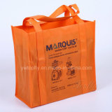 Customized Fashion Foldable Non Woven Tote Hand Bags for Advertising
