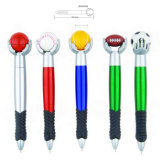 2017 Promotional Advertising Ball Pen with Football Top
