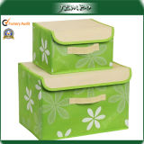 Hot Selling Quality Green Earring Organizer Box with Cover