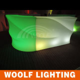 Waterproof Rechargeable Nightclub LED Plastic Bar Counter