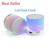 Support USB Flash Drive TF Card Mini Portable LED Flash Crack Bluetooth Speaker