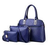 Sell Well Set Leather Bags 3PCS Fashionable Designer Handbag (XM0126)