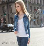 High Quality Women Clothes New Stretchy Slim Denim Jacket