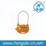 Rg-021 Orange Luggage Rope Lock