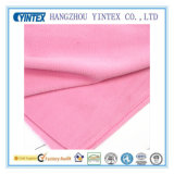 Anti-Pilling One-Side Fleece Fabric for Home Textiles, Pink