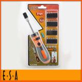 2015 Replaceable Multi Torque Screwdriver Set, 21PCS Flexible Fixer Screwdriver Set, Screwdriver Combination Tools Set T18A135
