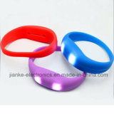 Sound Activated LED Silicone Bracelet with Logo Print (4010)