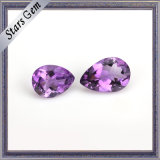 Tear Drop Glamour Brilliant Natural Amethyst Stone for Jewellery