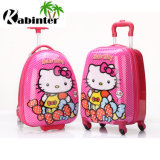 Cute Pattern ABS+PC Kids Luggage Travel Bag with Four Wheels Gift Trolley Luggage