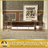 Rose Golden Color Furniture Corner TV Stand Modern