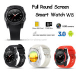 Promotion Bluetooth Smart Watch with SIM Card Slot and Mutiple Functions (W8)